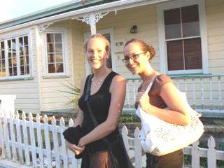 Sarah Keenan and Melissa Prentice