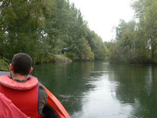 Boating on the Kiatuna River