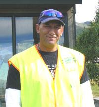 Greg Ruapera, a Maori guide who runs Mount Teranaki Adventures.