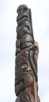 Totem Pole at Mt Taranaki.