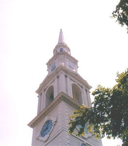 The meeting house of the First Baptist Church, 1775