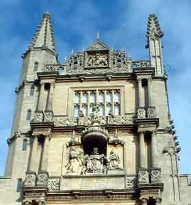 The facade of the Old Boleian