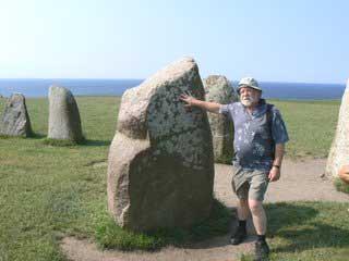 The Ales Stenar, or Ales stones