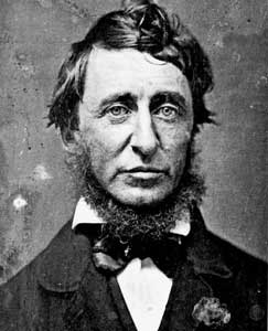 Henry David ThoreauHenry David Thoreau - photo courtesy of Wikkipedia