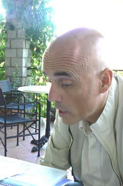 Maurizio Testa, Owner of the Hotel Ilio on Elba. Max Hartshorne photo.
