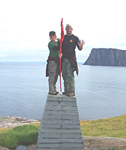 The real northernmost point in Europe: Knivskjelloddenn - photos by Matthew McDermott
