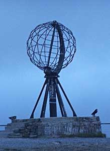 Marker in North Cape