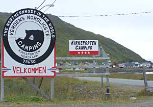 Northernmost camping in Norway.