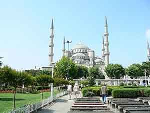 The Blue Mosque. photos by Erin Phelan.
