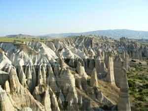 Cappadocia's amazing hills.