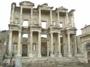 Celsus library in Ephesus.
