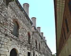 The kitchen chimneys at Topkapi Palace