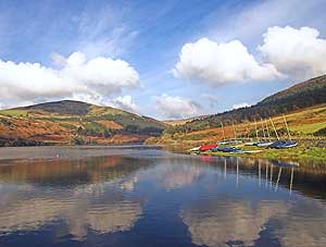 Lakes on the Isle of Man