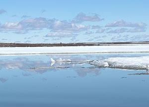Karrak Lake melting