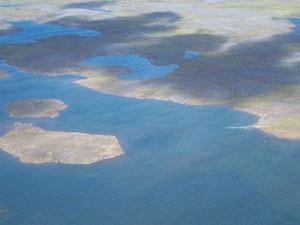 Karrak Lake from the air