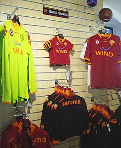 The AS Roma Store