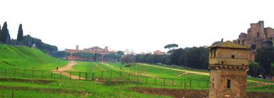 The site of the Circus Maximus