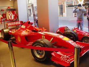 In the Ferrari Store