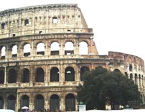 Rome's Colisseum.