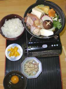 Chanko - the traditional sumo lunch