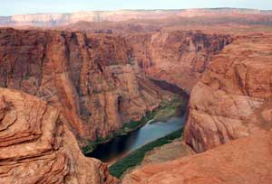 Horseshoe Bend on the Colorado River in Arizona - photos by Janis Turk