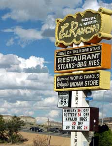 The Hotel El Rancho was favorite of movie stars in a bygone era.