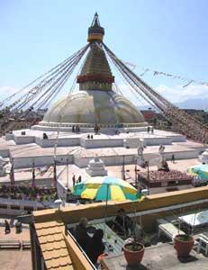 A temple in Kathmandu