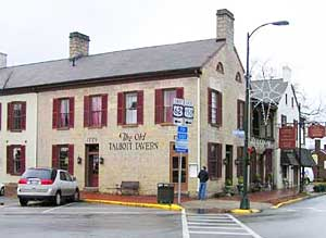 The Old Talbott Tavern in Bardstown is a good place to begin your tour of Bourbon Country. Photos by Leslie Patrick