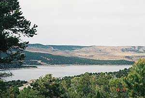 Flaming Gorge Reservoir in Utah