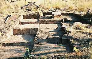 An archaeological site in Utah's Flaming Gorge