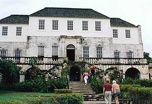 Rose Hall, home of Annie Palmer, the White Witch of Jamaica. Connie Motz photo.