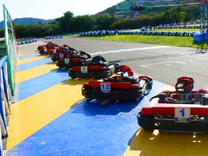 Go-karts at Forte Village