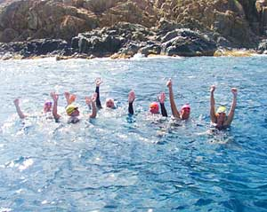 An Open-Water Swimming Vacation in the British Virgin Islands