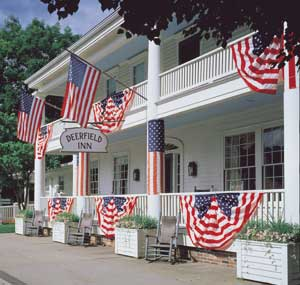 The Deerfield Inn on the Fourth of July