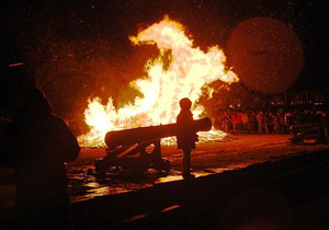 The fiery heart of Sweden