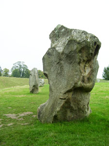 Avebury is a pre-historic site of a large henge and stone circles, dating back to around 5,000 years ago.