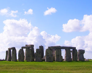 The standing stones at Stonehenge were transported more than 200 miles from Wales.