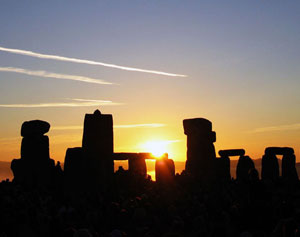 Solstice sunrise at Stonehenge - Andrew Dunn photo