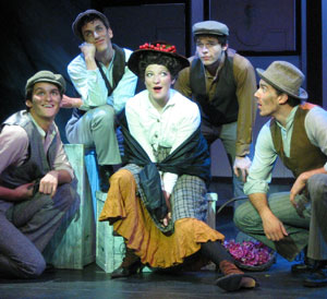 Wouldn't it be loverly if you could canoe on the lake all day and then walk to a theater and see a great show? Katie Bruestle sparkles in 'My Fair Lady' at the Barn Playhouse in New London, New Hampshire