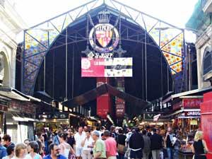 La Bouqueria Market on La Rambla Canaletes