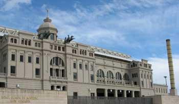 The Estadi Olimpic in Barcelona, Spain.