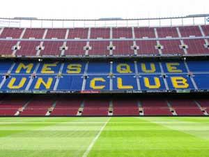 'More than just a club' -- inside Camp Nou - photos by Matt Genner