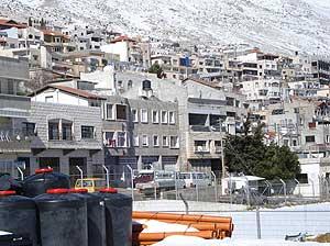 The Druze village of Majdal Shams
