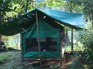 Pacuare river camp – photo courtesy of Explornatura