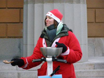 Santa in Stockholm