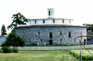 The Round Barn is probably the most photographed building at Hancock Shaker Village.