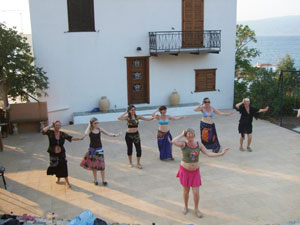 Dancing on the Aegean