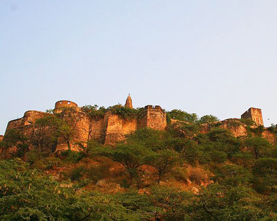 Fort near Birla Temple
