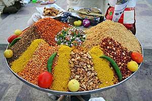 Street food near Jal Mahal