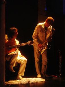 A new twist: flamenco saxophone